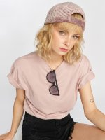 Sixth June T-Shirty Classic Oversize rózowy