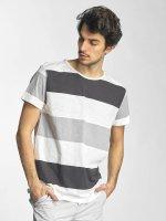 Sky Rebel T-Shirt Stripes weiß