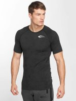 Smilodox T-Shirt Camo Pattern Seamless grau