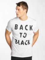 Solid T-shirt Niall bianco