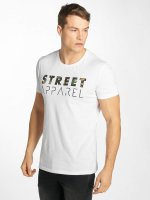 Solid T-shirt Niles bianco