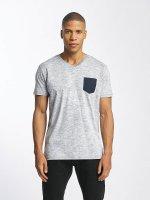 Solid T-shirt Kasen blå