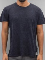 Solid t-shirt Gerard blauw