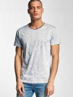 Solid t-shirt Hamelin blauw