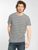 Solid t-shirt Neil blauw