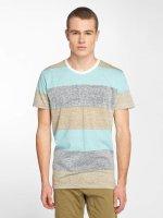 Solid t-shirt Nishan blauw