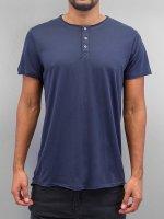 Solid T-shirt Barron blu