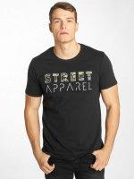 Solid T-shirt Niles nero