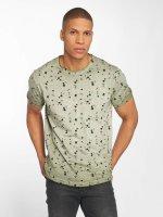 Solid t-shirt Newton olijfgroen