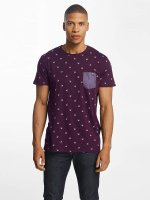 Solid T-shirt Joby rosso