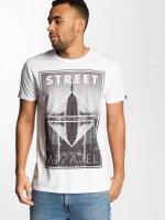 Solid T-shirt Harland vit
