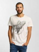 Solid t-shirt Jacot wit
