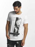 Solid t-shirt Layton wit