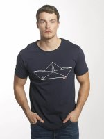 Solid T-skjorter Mars blå