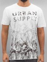 Solid T-skjorter Gian hvit