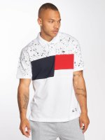 Southpole Polo Cut & Seen blanc