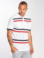 Southpole Poloshirt Cut & Seen white