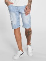 Southpole Short Denim bleu