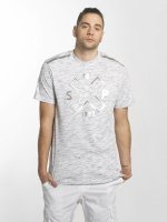 Southpole T-Shirt Marbled weiß