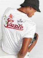 Staple Pigeon T-shirt Botanica Paradise bianco