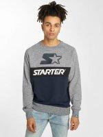 Starter Pullover Jeter blau