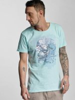 Stitch & Soul T-Shirt Summer turquoise