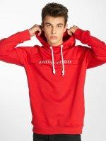 Sublevel Bluzy z kapturem Athletic czerwony