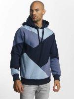 Sublevel Bluzy z kapturem Colour Block niebieski