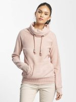 Sublevel Sweat & Pull High Neck Sweater rose