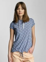 Sublevel T-Shirt Hearts bleu