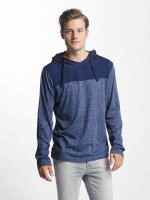 Sublevel T-Shirt manches longues Two-Tone bleu