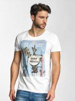 Sublevel T-Shirt Surf Beach white
