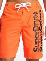 Superdry Badeshorts Board orange