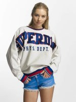 Superdry Pullover Game Day grau