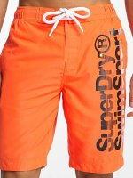 Superdry Short de bain Board orange