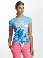 Superdry T-Shirt Photographic Entry blau