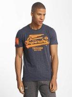 Superdry t-shirt High Flyers Lite blauw
