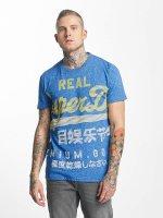 Superdry t-shirt XL Premium Goods Fade blauw