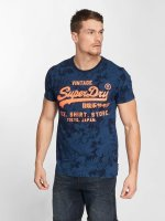 Superdry t-shirt Shop blauw