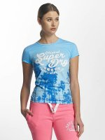 Superdry t-shirt Photographic Entry blauw
