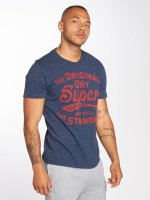 Superdry t-shirt Classic Standard blauw