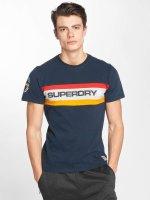 Superdry T-Shirt Trophy Chest Band bleu
