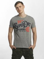 Superdry t-shirt NYC Goods CO grijs