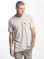 Superdry t-shirt Tropics Longline grijs