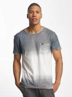 Superdry T-Shirt West Coast Fade Longline gris