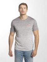 Superdry T-Shirt Sport Active Ombre Grit gris