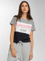 Superdry T-Shirt LA Boxy gris