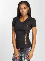 Superdry T-Shirt Sport Fitted Mesh noir