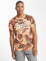 Superdry t-shirt Shop AOP oranje