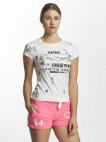 Superdry T-Shirt Premium Goods Doodle Entry weiß